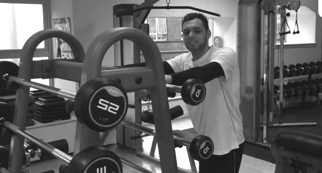 personal trainer mark in the gym